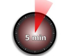 clock face stopwatch